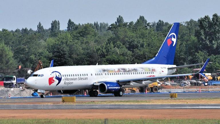 Moravian-Silesian Region - Boeing 737-8FN
