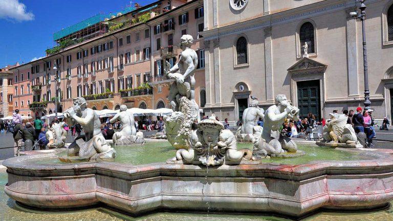 Fontana del Moro - Fontanna Maura