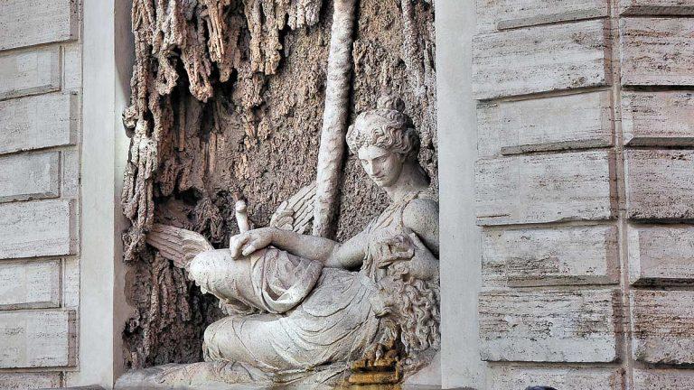 Cztery fontanny - Junona / Quattro Fontane - Giunone