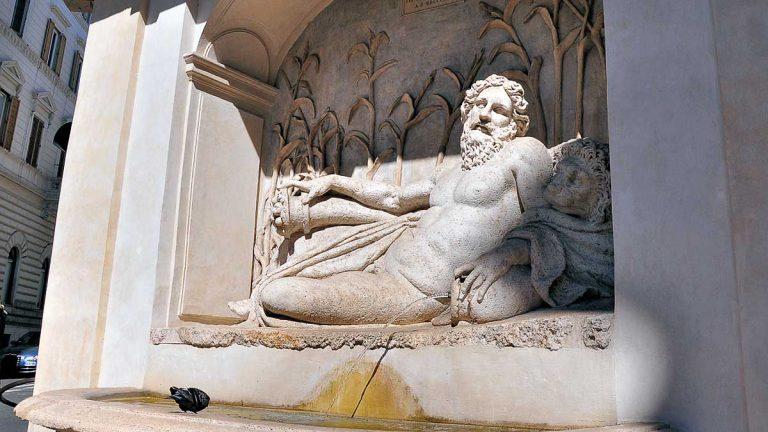 Cztery fontanny - Arno / Quattro Fontane - L'Arno