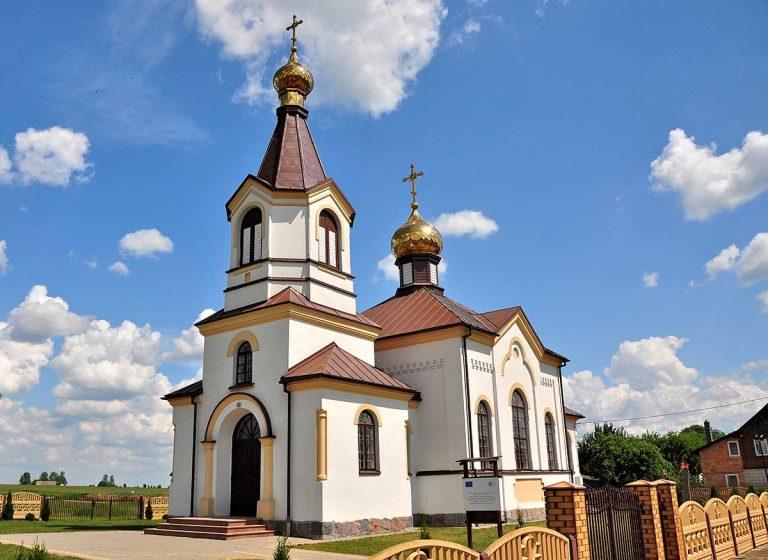 Andrjanki - cerkiew Podwyższenia Krzyża Świętego