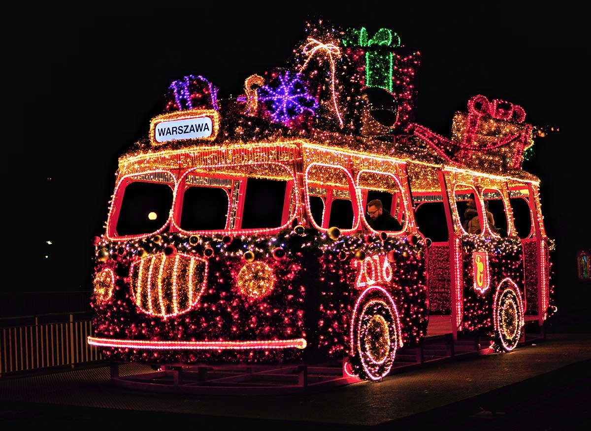 Świąteczny autobus