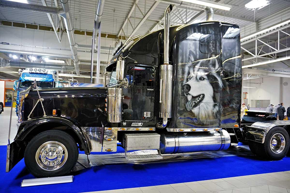Pies i kot - Warsaw Truck Show