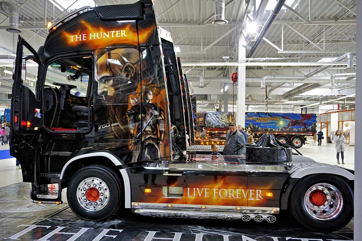 The Hunter - Warsaw Truck Show