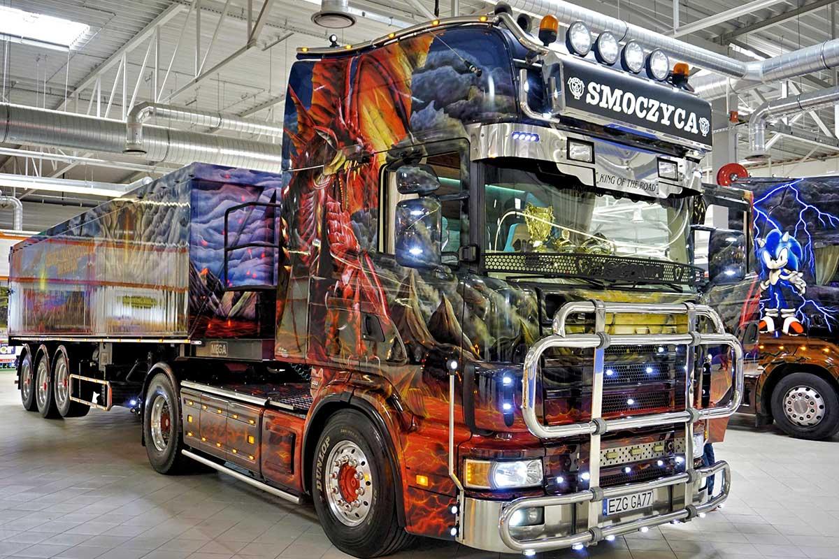 Smoczyca - Warsaw Truck Show