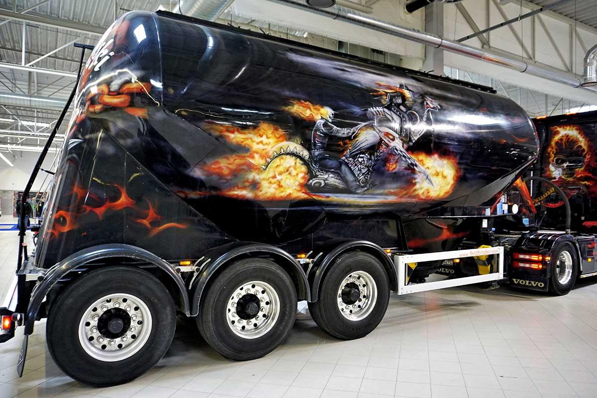 Ghost Rider - Warsaw Truck Show