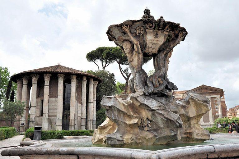 Fontana dei Tritoni - Fontanna Trytonów