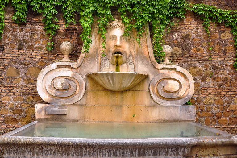 Fontana del Mascherone - Fontanna z maszkaronem