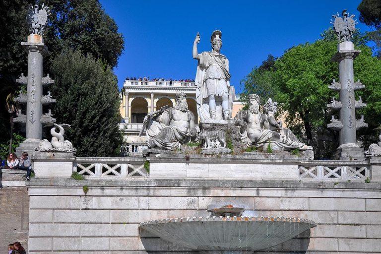 Fontana del Nettuno - Fontanna Neptuna