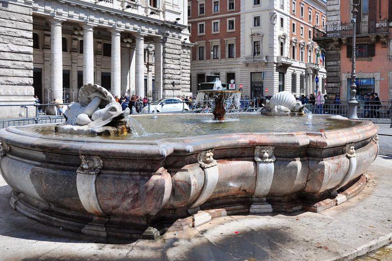 Fontana di Piazza Colonna - Fontanna na Piazza Colonna